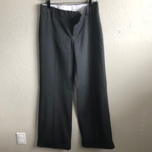 Gap charcoal trouser 4 long